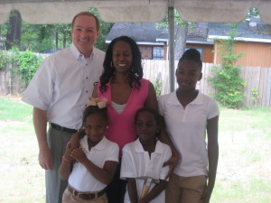 President Keenum and the 3rd Maroon Edition House family