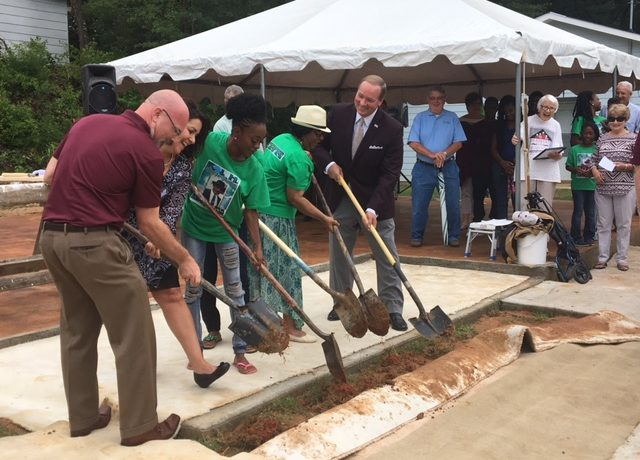 Groundbreaking for 9th Maroon Edition Habitat House